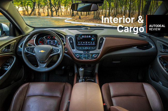 chevrolet malibu interior cargo space review autodeal philippines