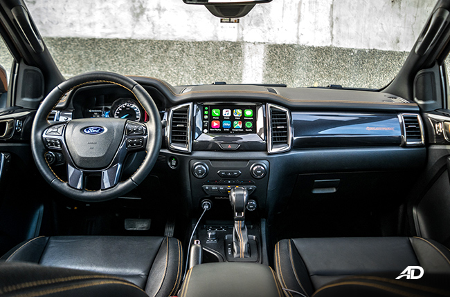 2019 ford ranger wildtrak biturbo interior and cargo space