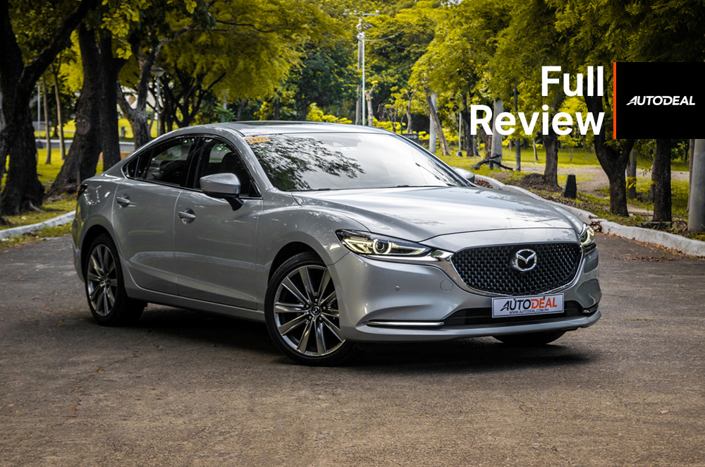 2019 Mazda6 Sedan Diesel Review | Autodeal Philippines