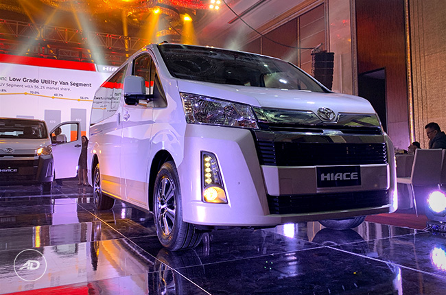 ad7dc77e81 2019 Toyota Hiace makes global launch in the Philippines