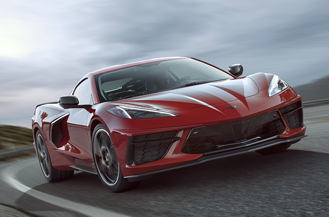 chevrolet corvette  debuts   hp   seats autodeal