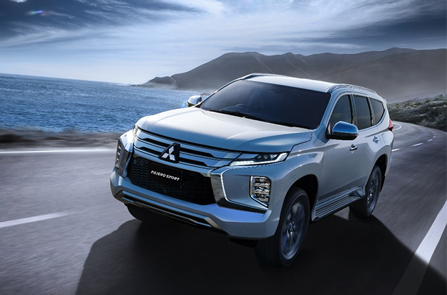 2020 Mitsubishi Montero Sport Facelift Debuts With New Smartphone