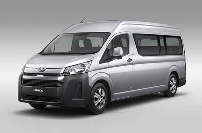 4457d184ed The 2020 Toyota Hiace has a nose