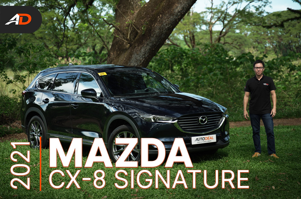2021 mazda cx-8 signature review - behind the wheel | autodeal