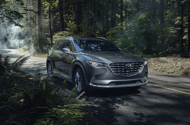 the mazda cx9 gets a mildrefresh for the north american