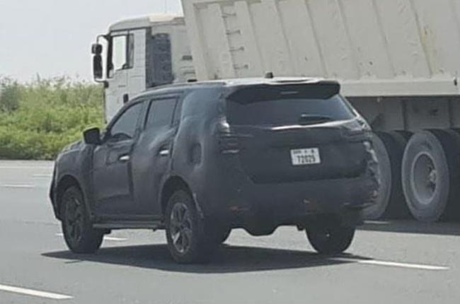 Possible 2021 Nissan Terra has been spotted doing public ...