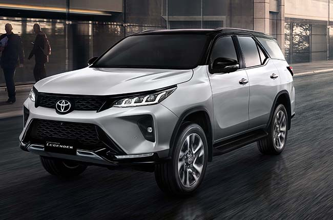 2021 Toyota Fortuner Gets A Striking New Face More Power And New Features Autodeal