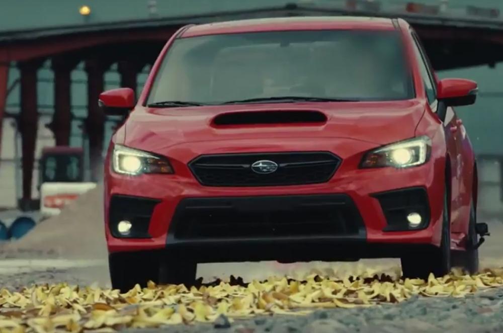 WATCH: Subaru WRX acceleration test over banana peels | Autodeal