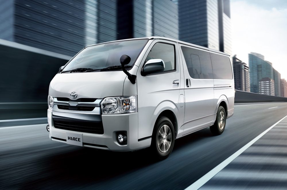 Mazda 3 Hatchback Used >> Toyota updates Hiace with new engines, safety features | Autodeal