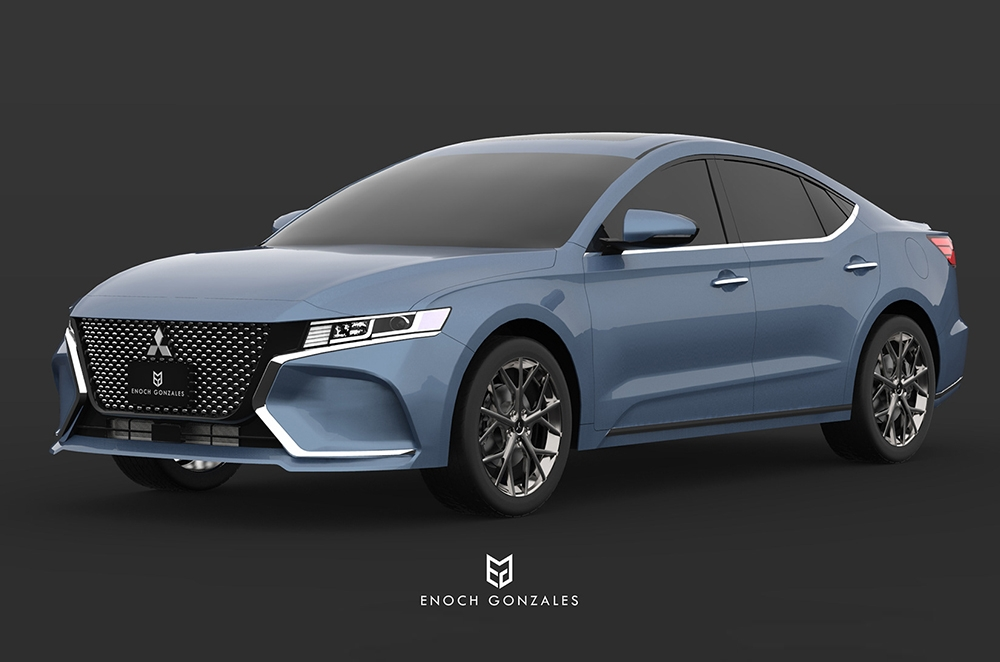 Here S What A Revived Mitsubishi Galant Could Look Like Autodeal