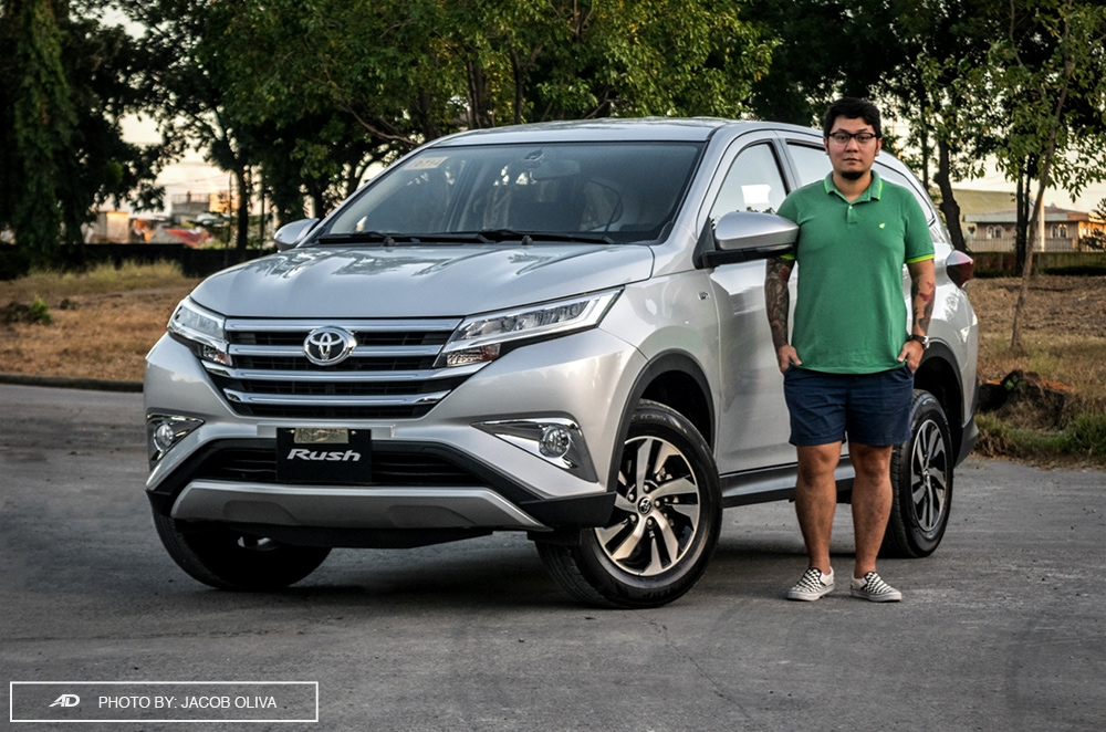 2018 Toyota Rush 5 Seater Review Autodeal Philippines
