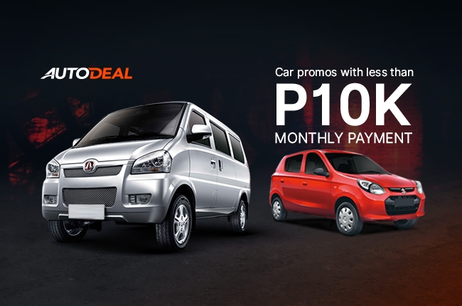 Best Cars For Less Than P10 000 A Month Autodeal