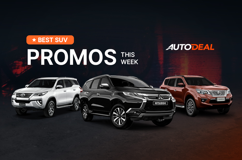 Best Suv Promos In The Philippines This Week Autodeal