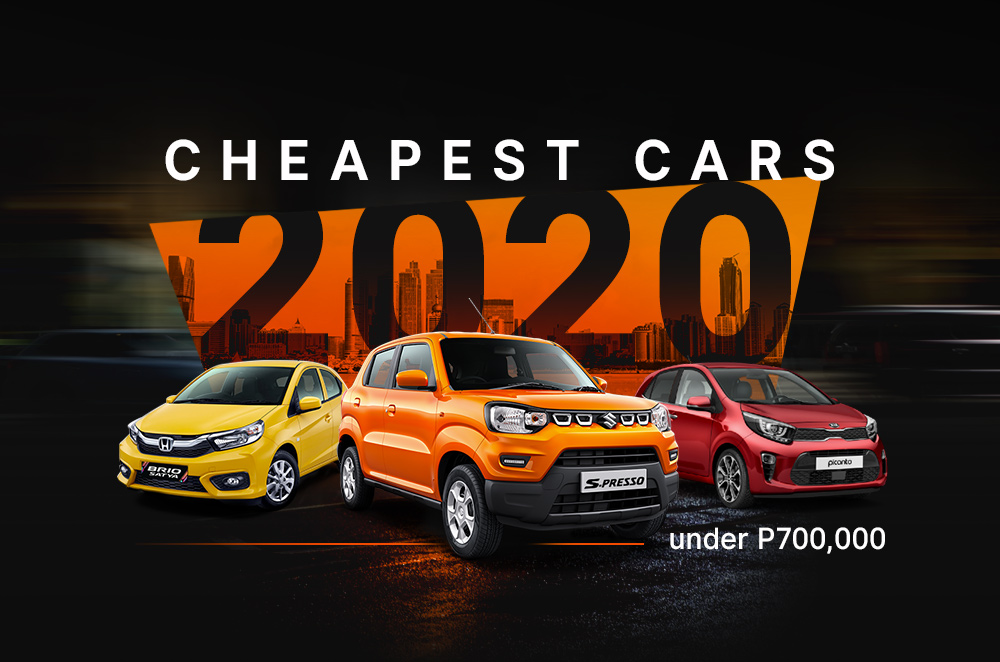 Cheapest Cars Under P700 000 In The Philippines Autodeal