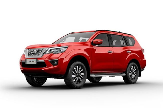 Fiery Red Nissan Terra is now available for ordering ...