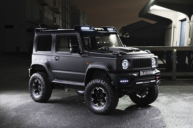 Suzuki Jimny Black Bison Edition Puts Cute Out Of The