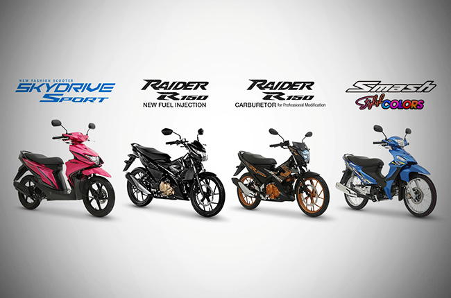 Suzuki Motorcycles sell strongly at the start of 2019 | Autodeal