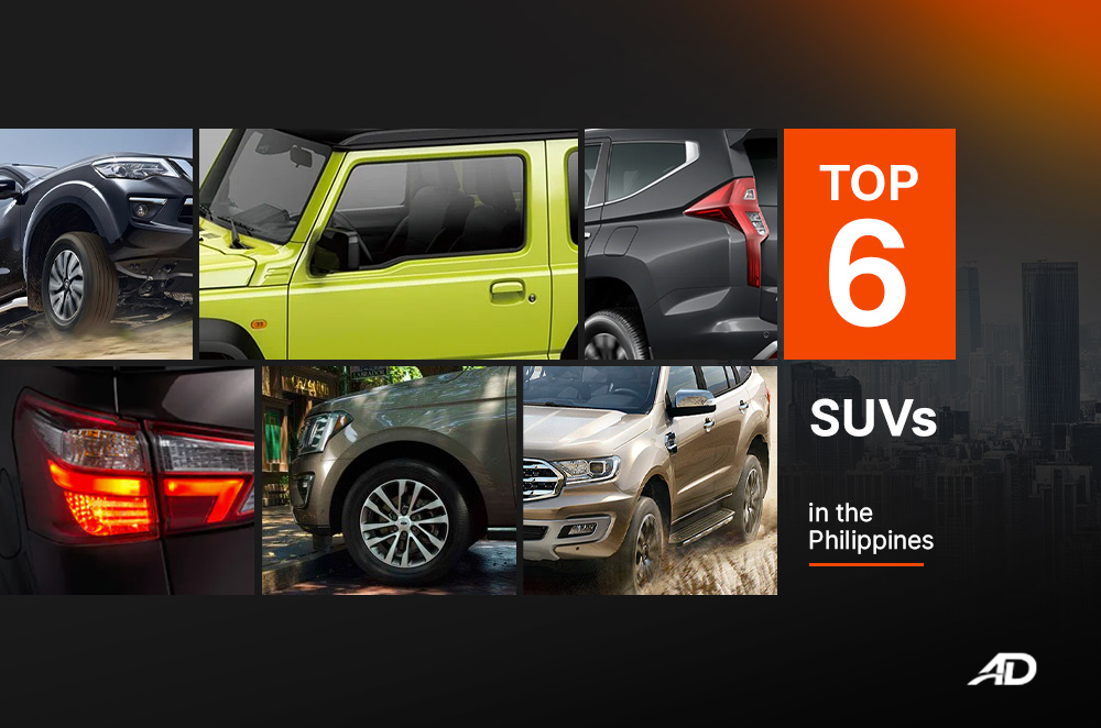 Top Six Suvs In The Philippines Autodeal