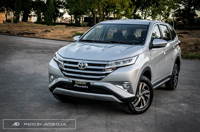The Toyota Rush is feature-packed even at its base variant ...