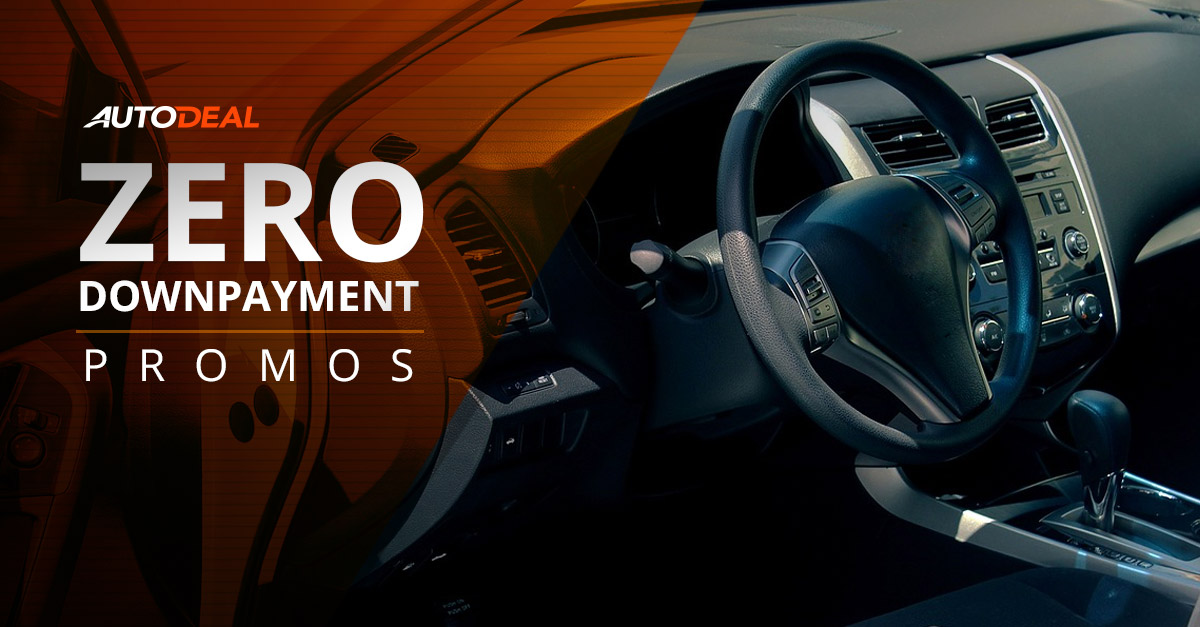 Zero Downpayment Car Promos in the Philippines | Autodeal